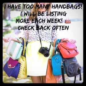 Handbags - Time For Some SPRING CLEANING
